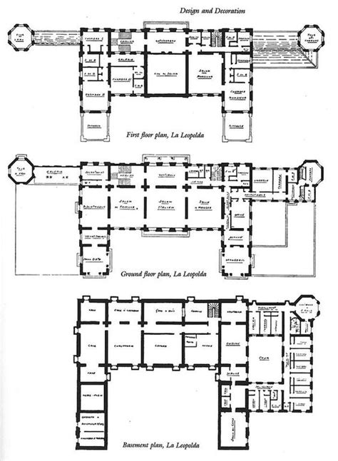lax floor plan villa la leopolda floorplan castles ch 226 teaux and