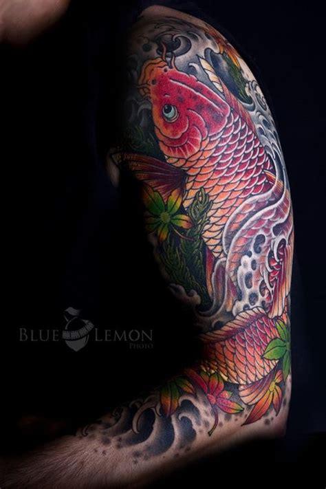 koi tattoo half sleeve price 33 best koi tattoo images on pinterest fish tattoos koi