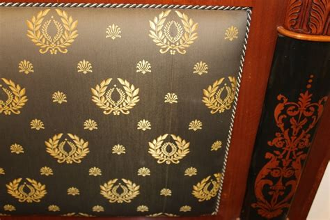 headboard upholstery fabric empire style headboard with versace upholstery