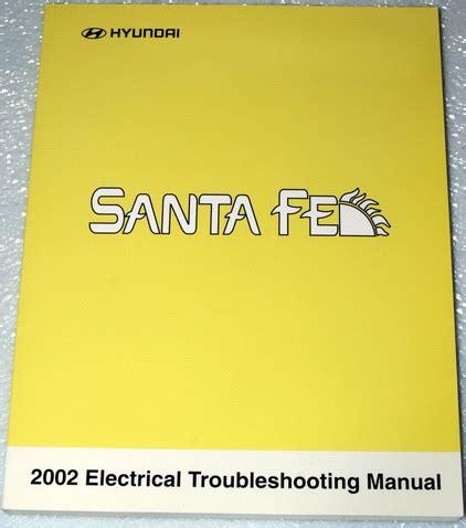 manual repair free 2002 hyundai santa fe interior lighting 2002 hyundai santa fe electrical troubleshooting manual original etm factory repair manuals