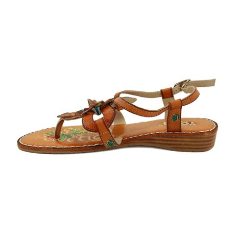 light brown sandals yoma joey womens leather sandals light brown