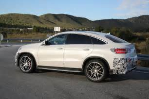 mercedes gle 63 amg coupe spied in production ready