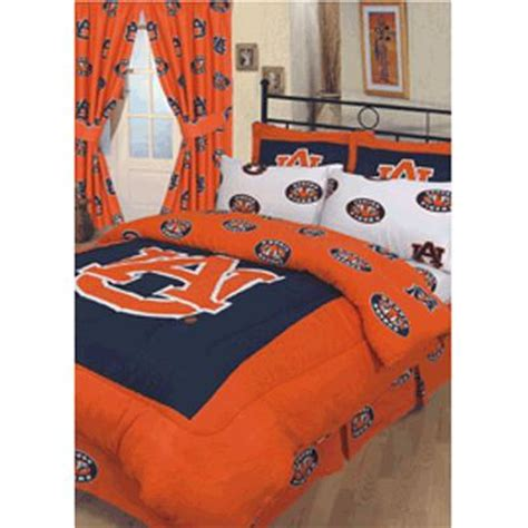 Bunk Beds Auburn Auburn Tigers 100 Cotton Sateen Comforter Set