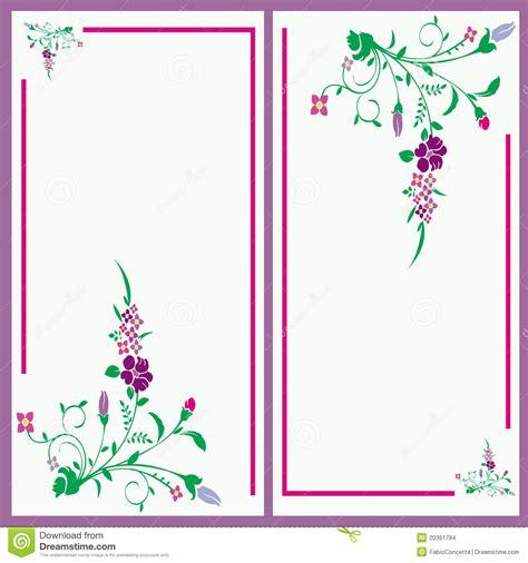 Baby Shower Salutations - carte florale d invitation images stock image 20361784
