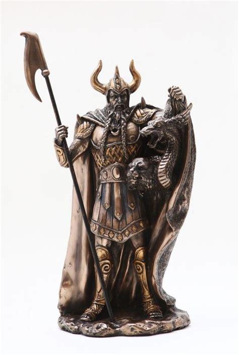 Buddha Statues Home Decor by Loki Half Jotunn Norse Myth Pagan God Viking Figurine