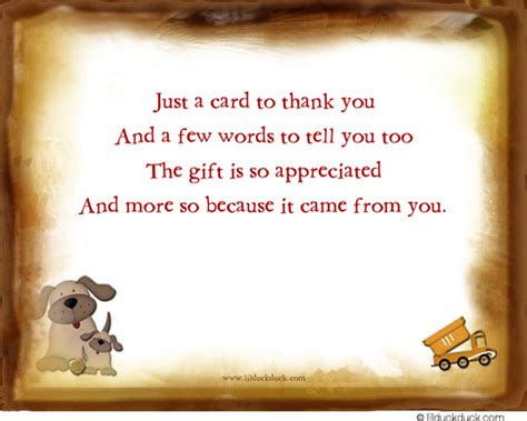 Thanking Someone For A Gift Card - red wagon puppy dog boy thank you card playful toy