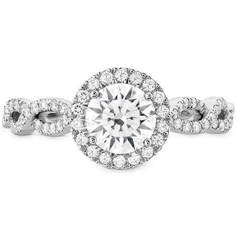 Dia Engagement Rings by Destiny Lace Hof Halo Engagement Ring Dia Intensive