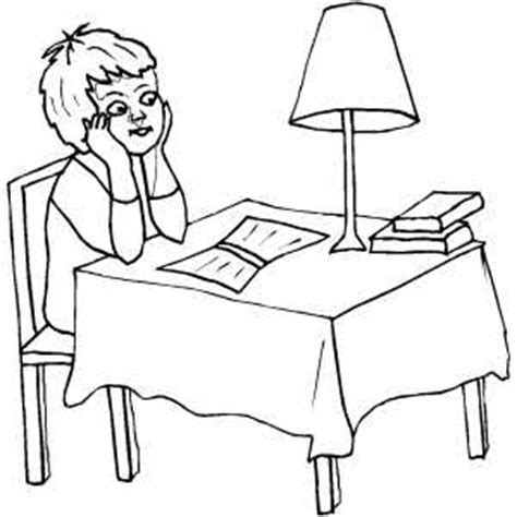 boy reading coloring page boy reading book under l light coloring sheet