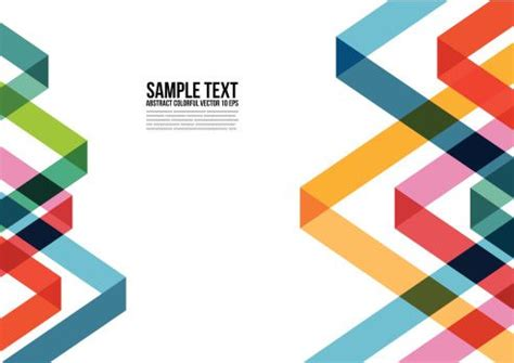 triangle layout vector abstract colorful triangle pattern background cover layout
