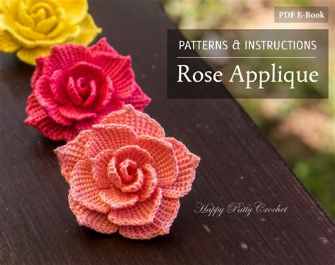 free crochet rose bag pattern crochet rose pattern crochet flower pattern for a rose
