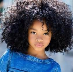 afro kid hairstyle
