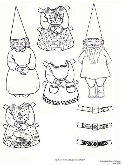 printable paper gnomes 120 best gnomes images on pinterest elves fungi and