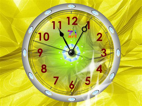 clock wallpaper for windows xp clock screensaver windows xp