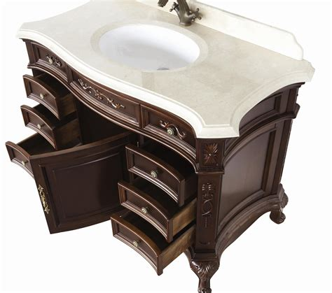 antique looking bathroom vanities constance antique style bathroom vanity single sink 50 2 quot