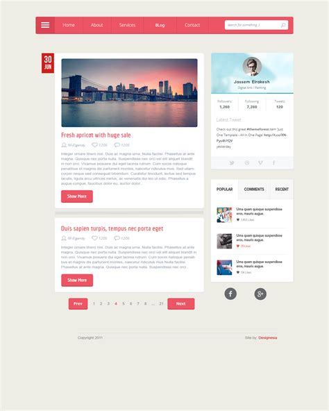 layout website html5 page layout html5