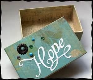 How To Decorate A Box by Decorate Box With Scrapbook Paper And Embellishments