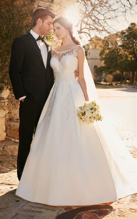 Wedding Dresses Ivory by Ivory Wedding Dresses Lace Wedding Dress Essense Of