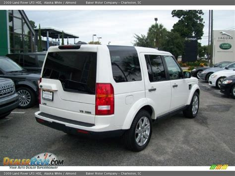land rover lr3 white 2009 land rover lr3 hse alaska white almond photo 4