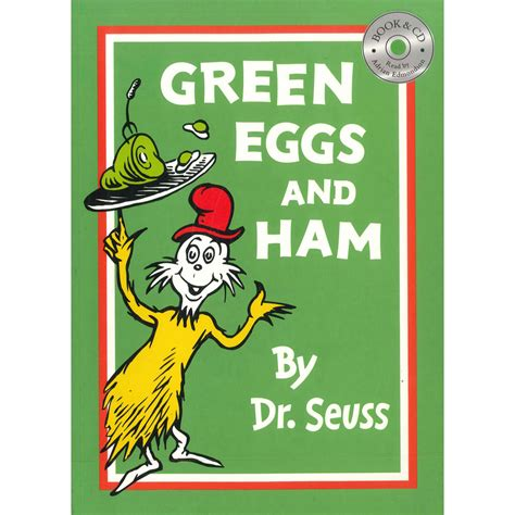 green eggs and ham book and cd by dr seuss 10