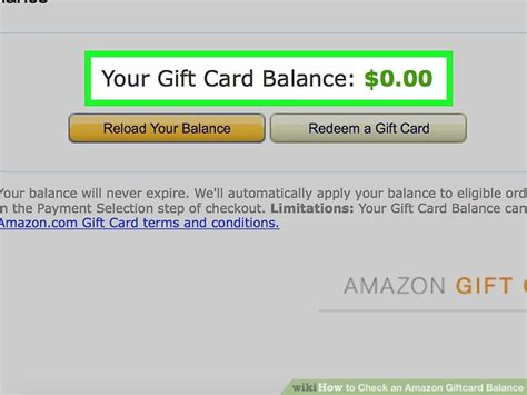 How To Check Amazon Gift Card Balance - how to check an amazon giftcard balance 12 steps with pictures