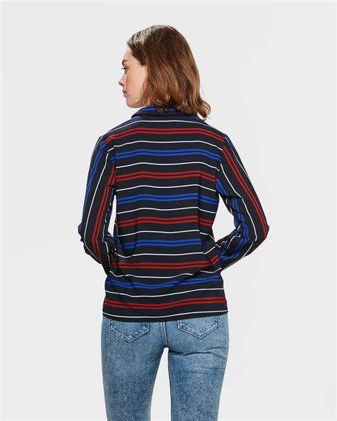 Stripe Blouse stripe twist blouse 81355464 we fashion