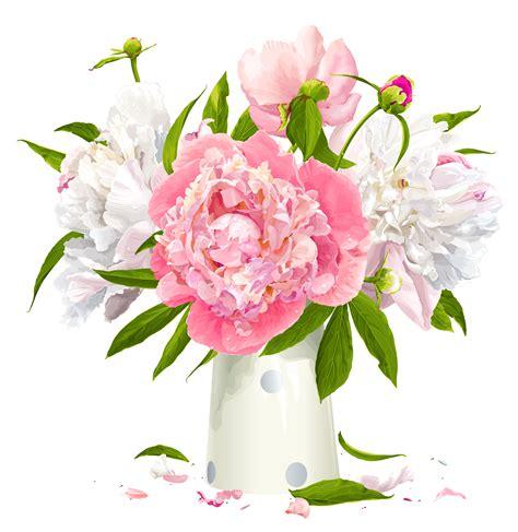 peony clipart peony cliparts printable images peony