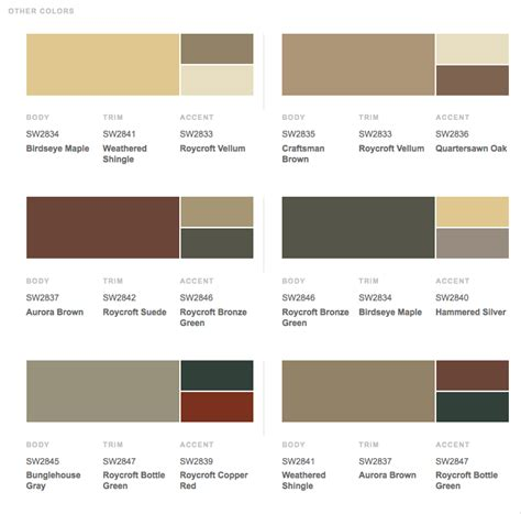 sherwin williams exterior paint color combinations sherwin william exterior paint color combinations