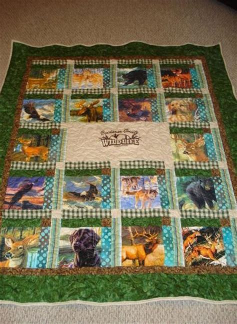 Wildlife Quilt by You To See Wildlife Quilt By Jayweb