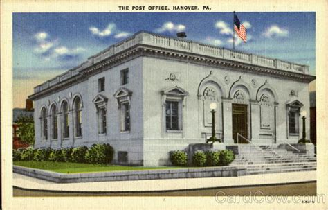 Hanover Post Office by The Post Office Hanover Pa