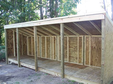 A Garden Shed by Plans For Building A Wood Storage Shed Woodworking