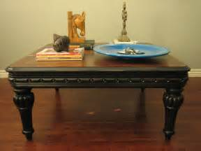 Rustic Black Coffee Table European Paint Finishes Rustic Black Coffee Table