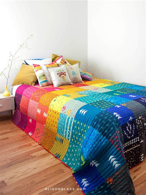 Handcrafted Quilts - handcrafted patchwork alison glass