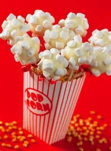 popcorn cake pop centerpiece edible crafts