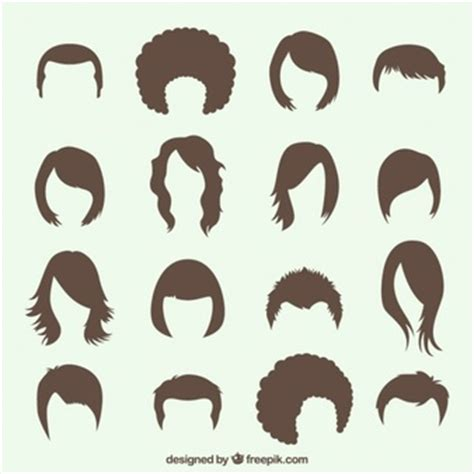 hairstyle templates hair vectors photos and psd files free