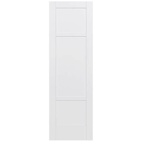 Jeld Wen 32 In X 96 In Moda Primed White 3 Panel Solid 96 Interior Door
