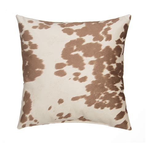 Goose Pillows Grouchy Goose Pillow Cover Cow Faux