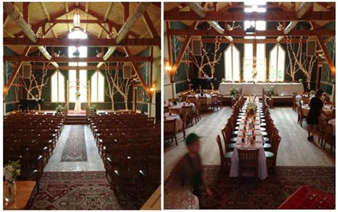 wedding and reception in same room maine country weddings mountain arts center brownfield maine