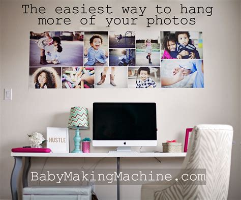 how to hang a picture the easy way hanging pictures photo wallpaper the easiest diy photo collage