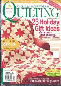 Quilting American Patchwork Magazine - american patchwork quilting magazine subscription buy at