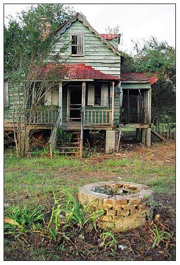 Farm House Edisto Island South Carolina Abandoned Edisto Houses