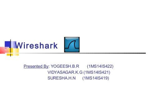 tutorial wireshark ppt wireshark