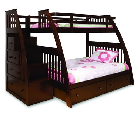 twin size bunk bed mattress 24 designs of bunk beds with steps kids love these