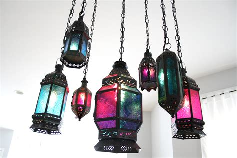 Indie Fashion And Beauty Diy Moroccan Lantern Chandelier Moroccan Lantern Chandelier