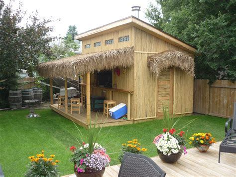 backyard tiki bar tiki bar party sheds pinterest tiki bars bar and