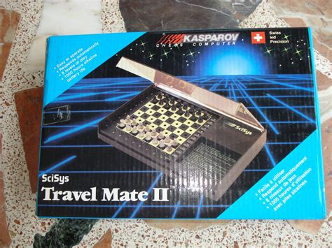 Travel Mate Mate Travel scisys travel mate ii chess computers