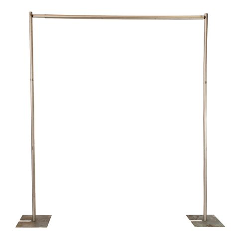 pipe and drape frame how the heck do i secure a ribbon garland backdrop when