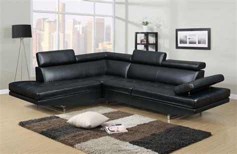 deco in canape d angle gauche design rubic noir
