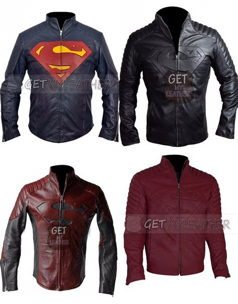 Jaket Hm 9 C Superman superman smallville original leather jacket by ashlyn33 on deviantart