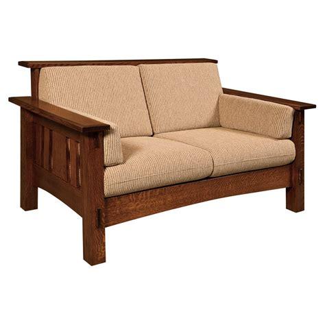 amish sofas loveseats amish furniture shipshewana
