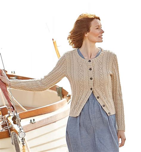 knitting pattern aran cardigan free aran cardigan knitting patterns crochet and knit
